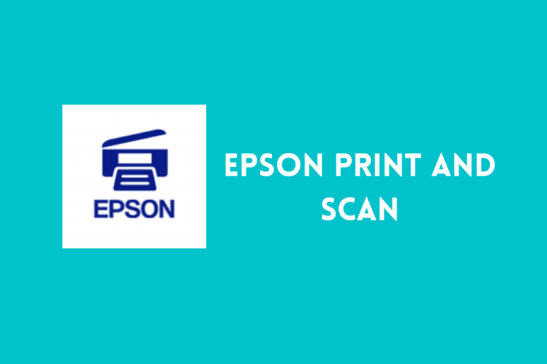 Epson Print and Scan